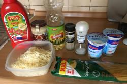 Zubereitung des Rezepts Spaghetti mit Hähnchenfleisch und Rahmsoße, schritt 1