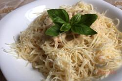 Zubereitung des Rezepts Spaghetti mit Hähnchenfleisch und Rahmsoße, schritt 8