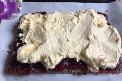 Zubereitung des Rezepts Mohn-Kirsch-Kuchen Cherry Lady, schritt 9