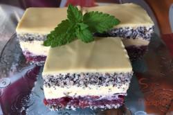 Zubereitung des Rezepts Mohn-Kirsch-Kuchen Cherry Lady, schritt 12