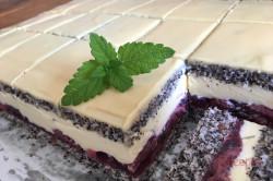 Zubereitung des Rezepts Mohn-Kirsch-Kuchen Cherry Lady, schritt 13