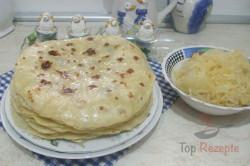 Zubereitung des Rezepts Slowakische süße Kartoffelfladen, schritt 7