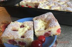 Zubereitung des Rezepts Ungarischer Quark-Kirsch-Kuchen, schritt 9