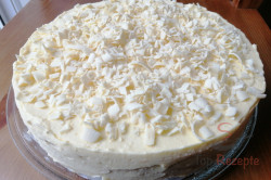 Zubereitung des Rezepts Vanillecremetorte nach Sandwich-Eis Art (ohne Backen), schritt 3