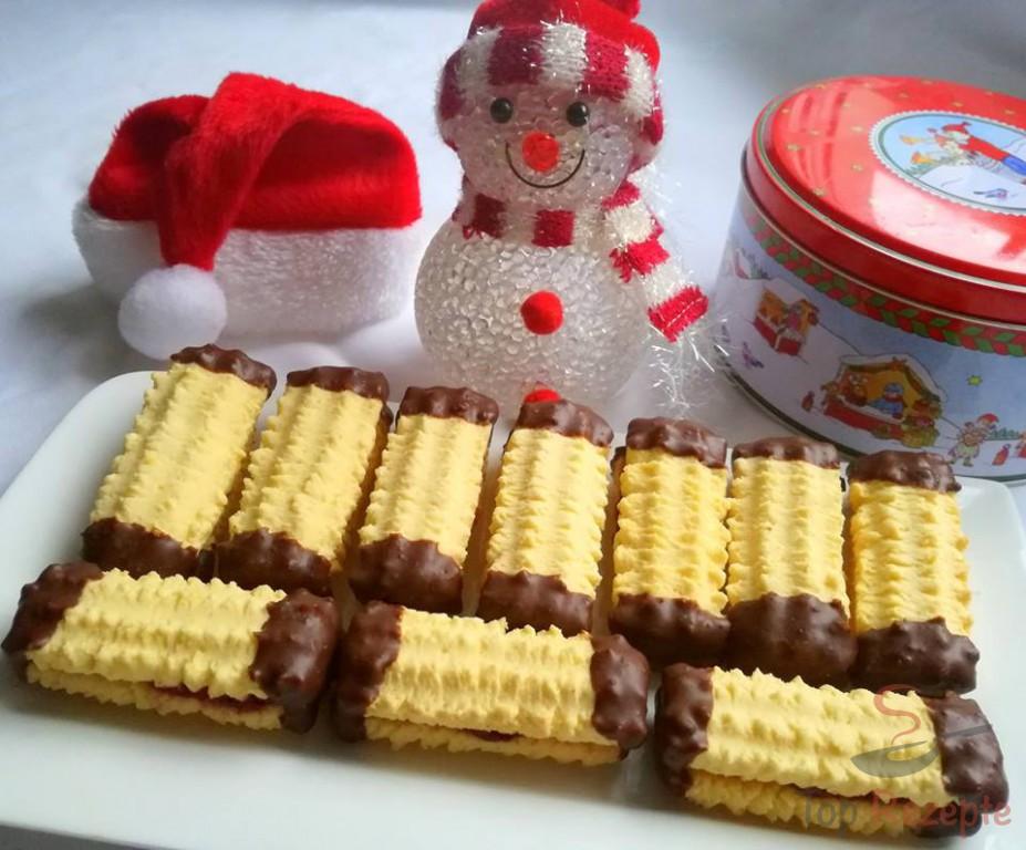 Weihnachtsplätzchen Spritzgebäck.Pudding Spritzgebäck Für Den Weihnachtstisch