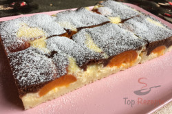 Zubereitung des Rezepts Schwarz-weißer Aprikosen-Quark-Kuchen, schritt 9