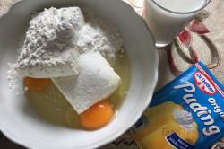 Zubereitung des Rezepts Schwarz-weißer Aprikosen-Quark-Kuchen, schritt 4