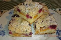 Zubereitung des Rezepts Obstkuchen mit Streuseln, schritt 10