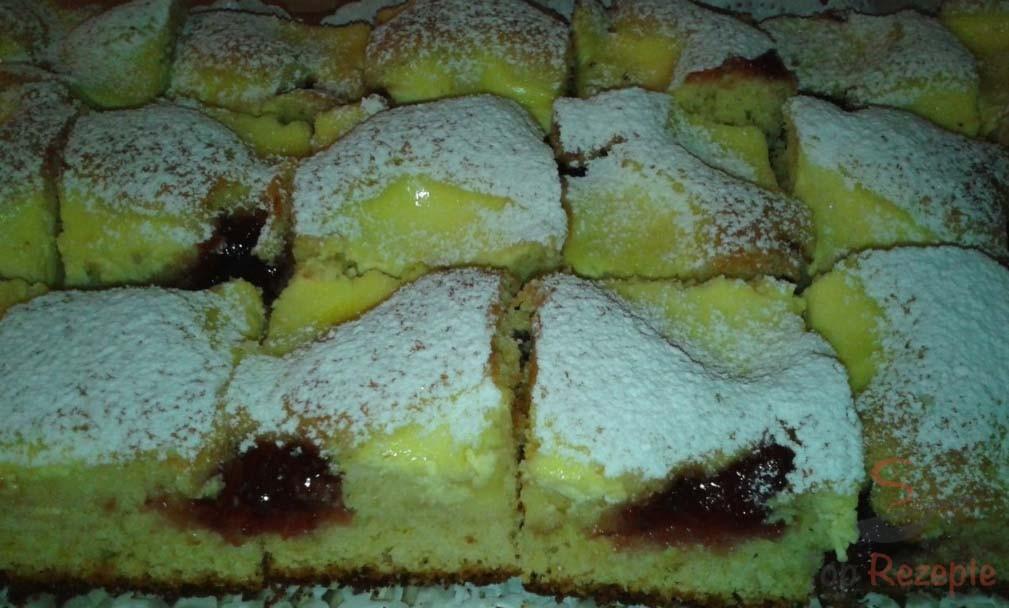 Versunkener Pflaumenmus Quark Kuchen Top Rezepte De