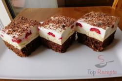 Zubereitung des Rezepts Der beste Nachtisch mit saurer Sahne und Schokolade, schritt 1