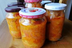 Geheimrezept der Familie: einfacher Salat im Glas ohne Einkochen, schritt 3