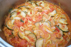 Geheimrezept der Familie: einfacher Salat im Glas ohne Einkochen, schritt 2