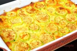 Zubereitung des Rezepts Zucchini in Sahnesoße überbacken, schritt 6
