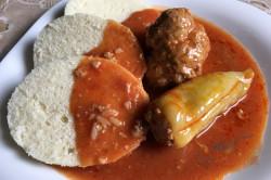 Zubereitung des Rezepts Traditionelle, geschmacklich unübertreffliche gefüllte Paprika mit Tomatensoße, schritt 6