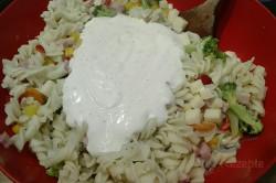 Zubereitung des Rezepts Leichter Nudelsalat mit Joghurtdressing, schritt 5