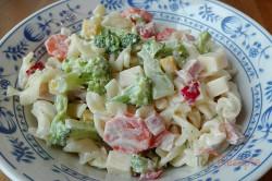Zubereitung des Rezepts Leichter Nudelsalat mit Joghurtdressing, schritt 7