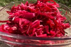 Zubereitung des Rezepts Schnelle Entgiftung des Körpers mit leckerem Rote-Beete-Salat – Abnehmen ist vorprogrammiert, schritt 1