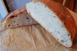 Zubereitung des Rezepts Ratz-Fatz-Brot ohne Aufwand, ohne Gehzeit und mit knuspriger Kruste, schritt 1