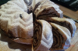 Zubereitung des Rezepts Hefegugelhupf mit Kakao – FOTOANLEITUNG, schritt 13