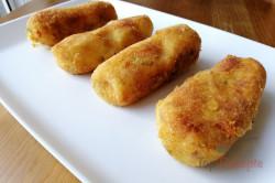 Zubereitung des Rezepts Panierte Kartoffel-Käse-Stangen, schritt 8