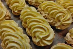 Zubereitung des Rezepts Baiserstangen mit Vanillecreme und Schokolade, schritt 3
