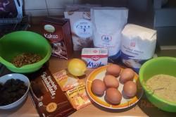 Zubereitung des Rezepts Schokoladen-Gugelhupf mit Walnüssen – mit FOTOANLEITUNG, schritt 1