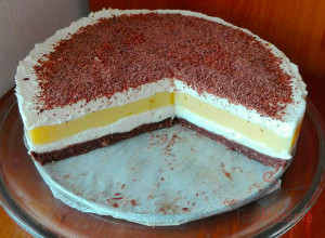 Tolle Cremetorte ohne Backen