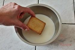Zubereitung des Rezepts Schneller 10-Minuten-Schaumkuchen ohne Backen, schritt 2
