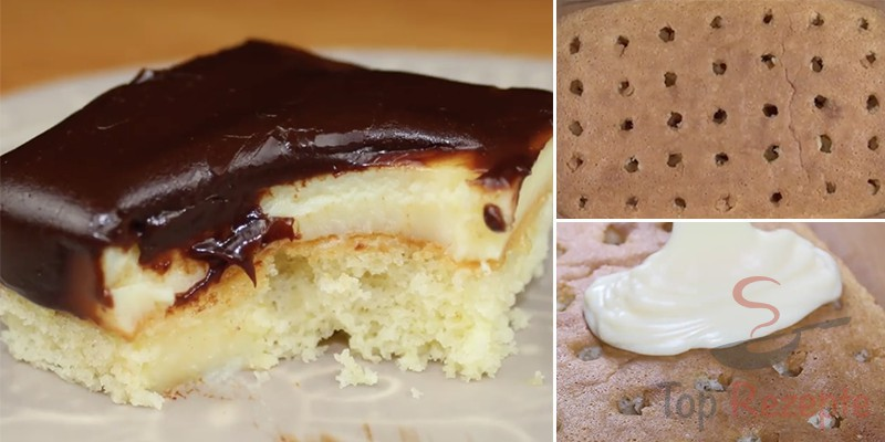 Puddingkuchen Mit Schokoglasur Top Rezepte De
