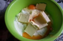 Zubereitung des Rezepts Quark-Apfelkuchen mit Gitter FOTOANLEITUNG, schritt 1