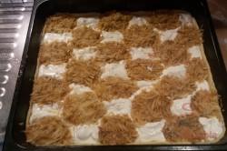 Zubereitung des Rezepts Quark-Apfelkuchen mit Gitter FOTOANLEITUNG, schritt 6