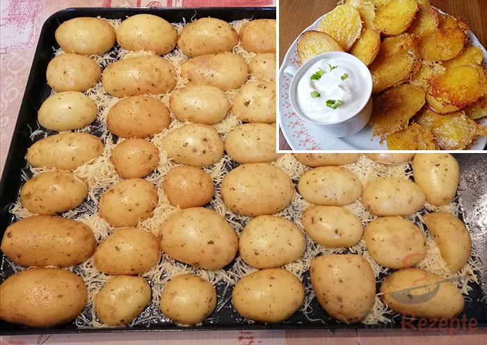Knuspriger Snack: Diese Kartoffelhälften aus dem Ofen sind ein Internethit! | Top-Rezepte.de