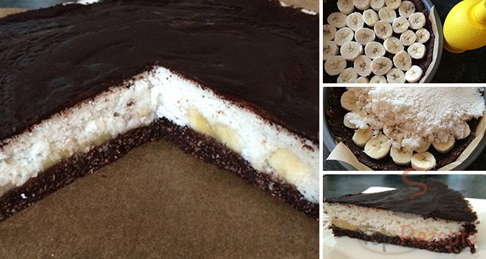 Fitness Kokos Torte Mit Bananen Fotoanleitung Top Rezepte De