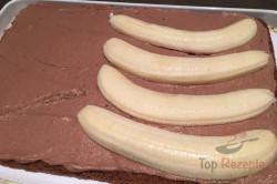 steppdeckenkuchen mit schokocreme und bananen top. Black Bedroom Furniture Sets. Home Design Ideas