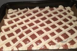 Zubereitung des Rezepts Steppdeckenkuchen mit Schokocreme und Bananen, schritt 1