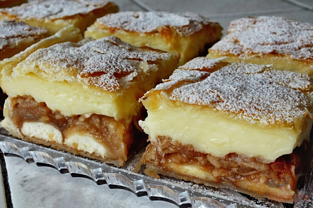 Apfel Pudding Kuchen Mit Blatterteig Top Rezepte De
