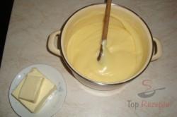 Zubereitung des Rezepts Die besten Milchbrötchen mit Vanillecreme, schritt 4