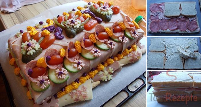Herzhafte Torte Mit Fotoanleitung Von Einem Fan Top Rezepte De