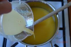 Zubereitung des Rezepts Frisches Orangendessert mit Schlagsahne, schritt 5