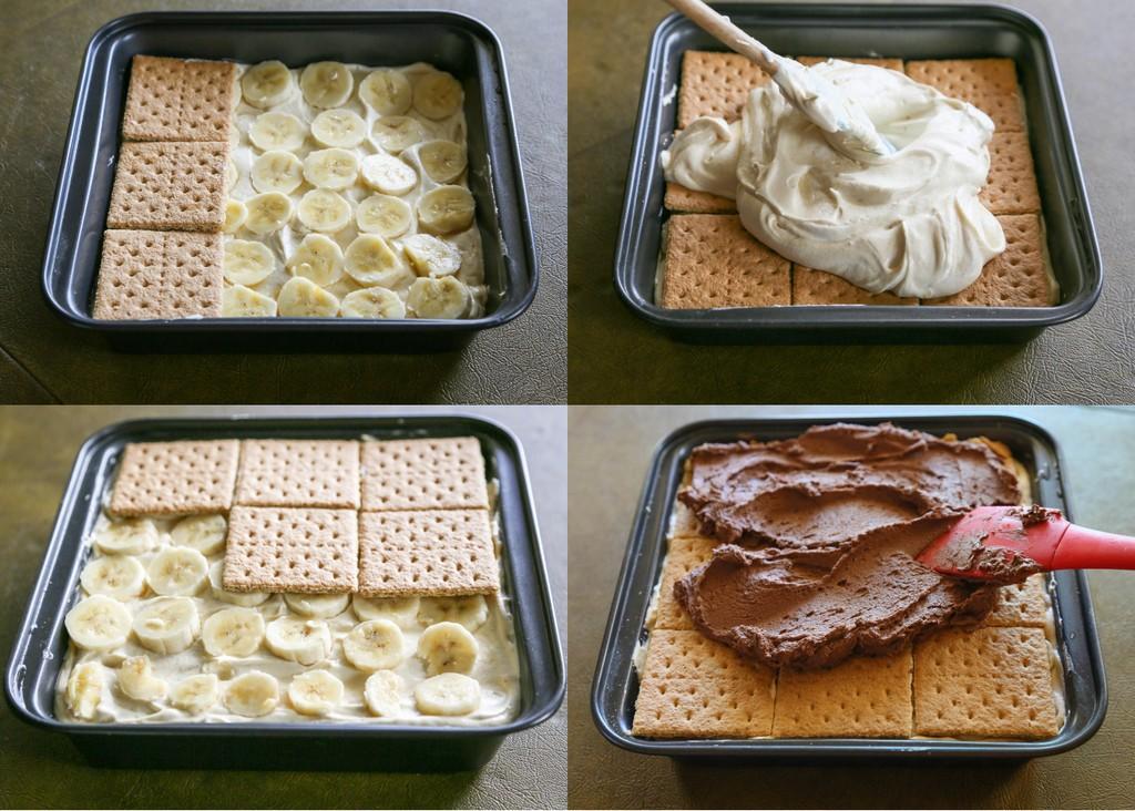 Wunderbares Bananen Butterkeks Dessert Ohne Backen Top Rezepte De