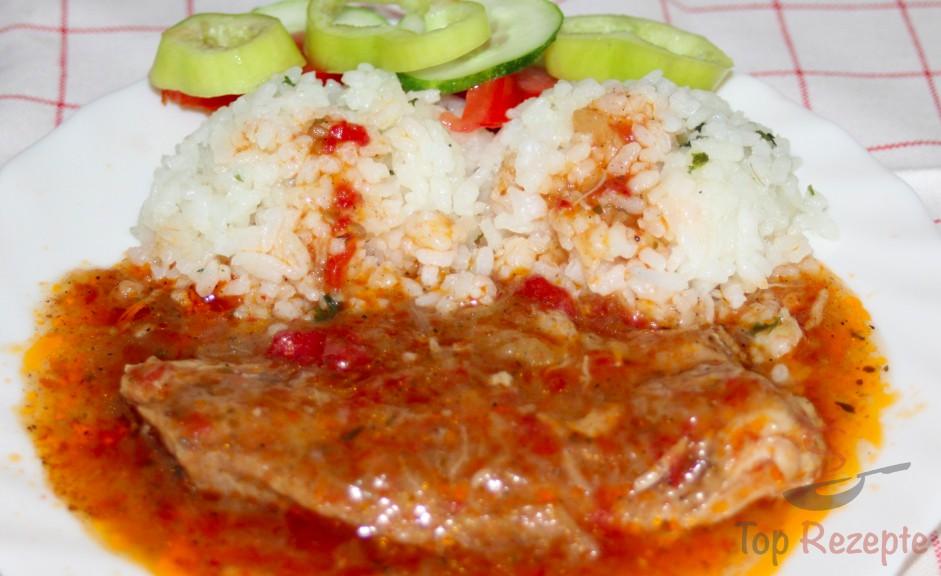 Schweine-Schmorbraten serbischer Art   Top-Rezepte.de