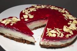 Zubereitung des Rezepts Ohne Zucker, ohne Mehl und vor allem in nur 10 Minuten zubereitet: Cheesecake mit..., schritt 1
