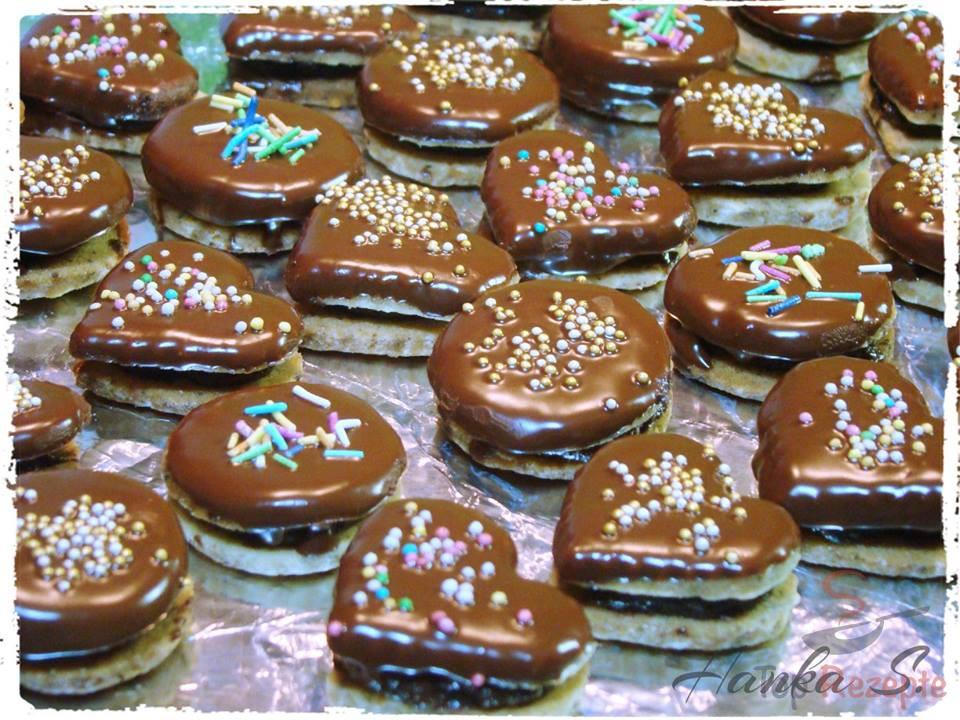 Weihnachtsplätzchen Mit Schokolade.Schoko Nuss Plätzchen